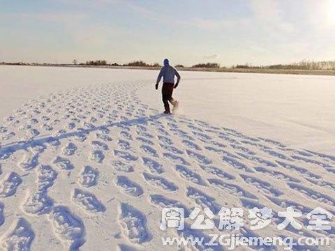 下雪在雪地上走.jpg