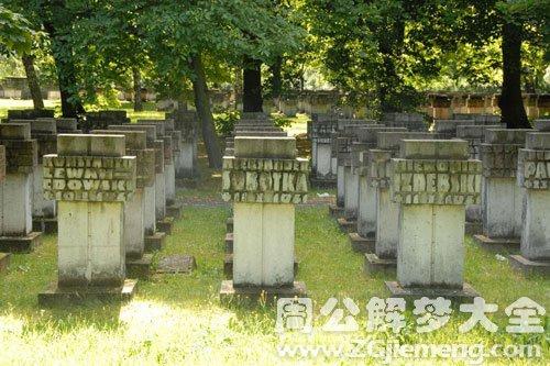 梦见墓穴-墓基-坟墓