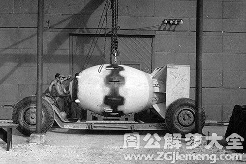 梦见原子弹