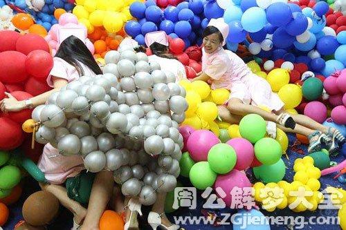 梦见很多气球