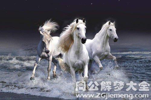 梦见奔跑的马