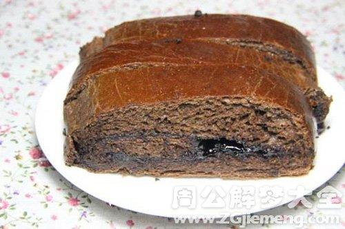 梦见巧克力面包