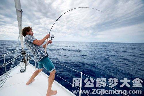 男人梦见钓鱼